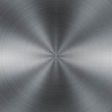 Brushed metal. Abstract - circular metal brushed texture Stock Photography