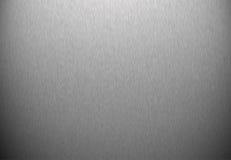 Brushed metal Stock Image