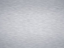 Brushed metal. Sheet of rendered brushed steel or metal Stock Photo