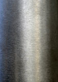 Brushed metal. Brushed shiny metal as background Royalty Free Stock Photography