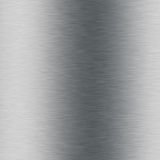 Brushed metal aluminium Stock Photography