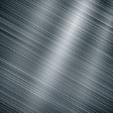 Brushed metal aluminum background. Or texture Royalty Free Stock Images