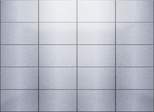 Brushed metal background Stock Photos