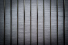 Brushed metal bars vignette Royalty Free Stock Photography