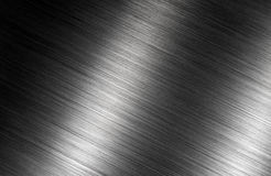 Brushed metal dark shadows background Stock Photos