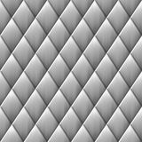 Brushed metal diamond squares Stock Image