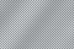 Brushed metal - dotted. A Brushed metal texture background - natural look Stock Illustration