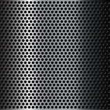 Brushed metal grid Stock Images