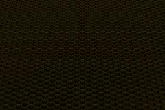 Brushed metal hexagon grille. Abstract background whith brushed metal hexagon grille, speaker grill, 3d render illustration vector illustration
