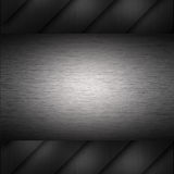 Brushed metal industrial background Royalty Free Stock Photos