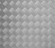 Brushed metal panel Royalty Free Stock Image