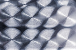 Brushed metal plate Royalty Free Stock Image