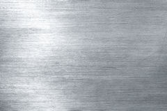Brushed metal plate Royalty Free Stock Photo