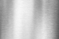 Brushed metal plate. Brushed metal texture or plate royalty free stock image