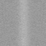 Brushed Metal Seamless Background. Brushed metal background which will tile seamlessly Stock Photo