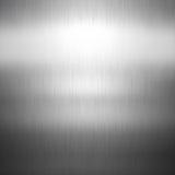 Brushed metal. Shiny background with brushed metal design stock illustration