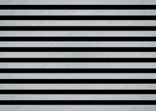 Brushed metal slat Stock Photo