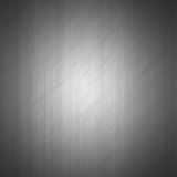 Brushed metal surface effect background. With reflection Royalty Free Stock Images