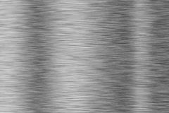 Brushed metal surface with multiple highlights Stock Photography