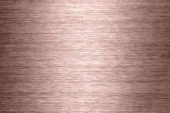 Brushed metal texture. Copper brushed metal texture in background stock image