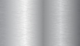 Brushed metal texture  Royalty Free Stock Images