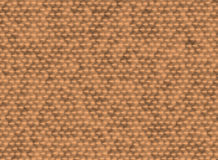 Brushed Metal Texture. Red brushed metal texture. Circular pattern Stock Photos