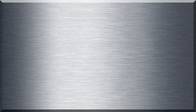 Brushed metal texture Stock Images