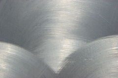 brushed metal texture Στοκ εικόνα με δικαίωμα ελεύθερης χρήσης