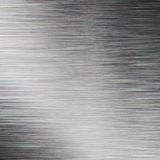 BRUSHED METAL TEXTURE. Background with light shading Stock Image
