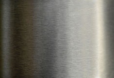 Brushed metal texture. Brushed metal background Royalty Free Stock Images