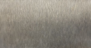 Brushed metal texture Stock Photos