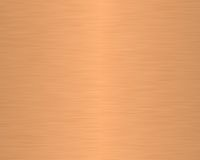 Brushed metal texture backgrou. Nd linear copper royalty free illustration