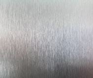 Brushed metal texture background Stock Photography