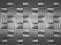 Brushed metal texture pattern. Industrial tread plate background Stock Photo