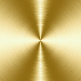 Brushed metal texture. Shiny, gold brushed metal texture, background with copy space royalty free illustration