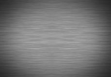 Brushed metal with vignette Stock Photography