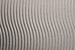 Brushed metal with wavy lines Stock Photography