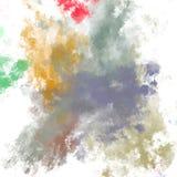 Brushed pintou o fundo abstrato Escova afagada Papel de parede abstrato Pintura ilustração do vetor