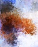 Brushed pintou o fundo abstrato Pintura afagada escova Cursos da pintura Ilustra??o abstrata ilustração stock