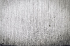 Brushed scratched stainless steel closeup texture Stock Image