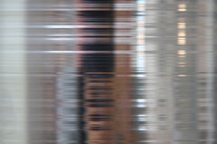 Brushed shiny metal plate Stock Image