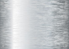 Brushed silver background new Stock Photos