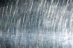 Brushed silver metal. Beautiful silver texture Stock Photography