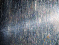 Brushed silver metal. Beautiful silver texture Stock Images