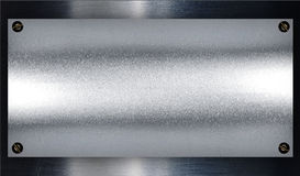 Brushed silver metal. Beautiful silver texture Stock Image