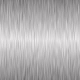 Brushed silver metallic background Royalty Free Stock Photo