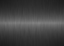 Brushed silver metallic steel background Stock Image