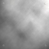 brushed stainless steel panel Royalty Free Stock Images