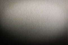 Brushed stainless steel texture Royalty Free Stock Image