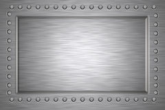 Brushed steel Royalty Free Stock Photography